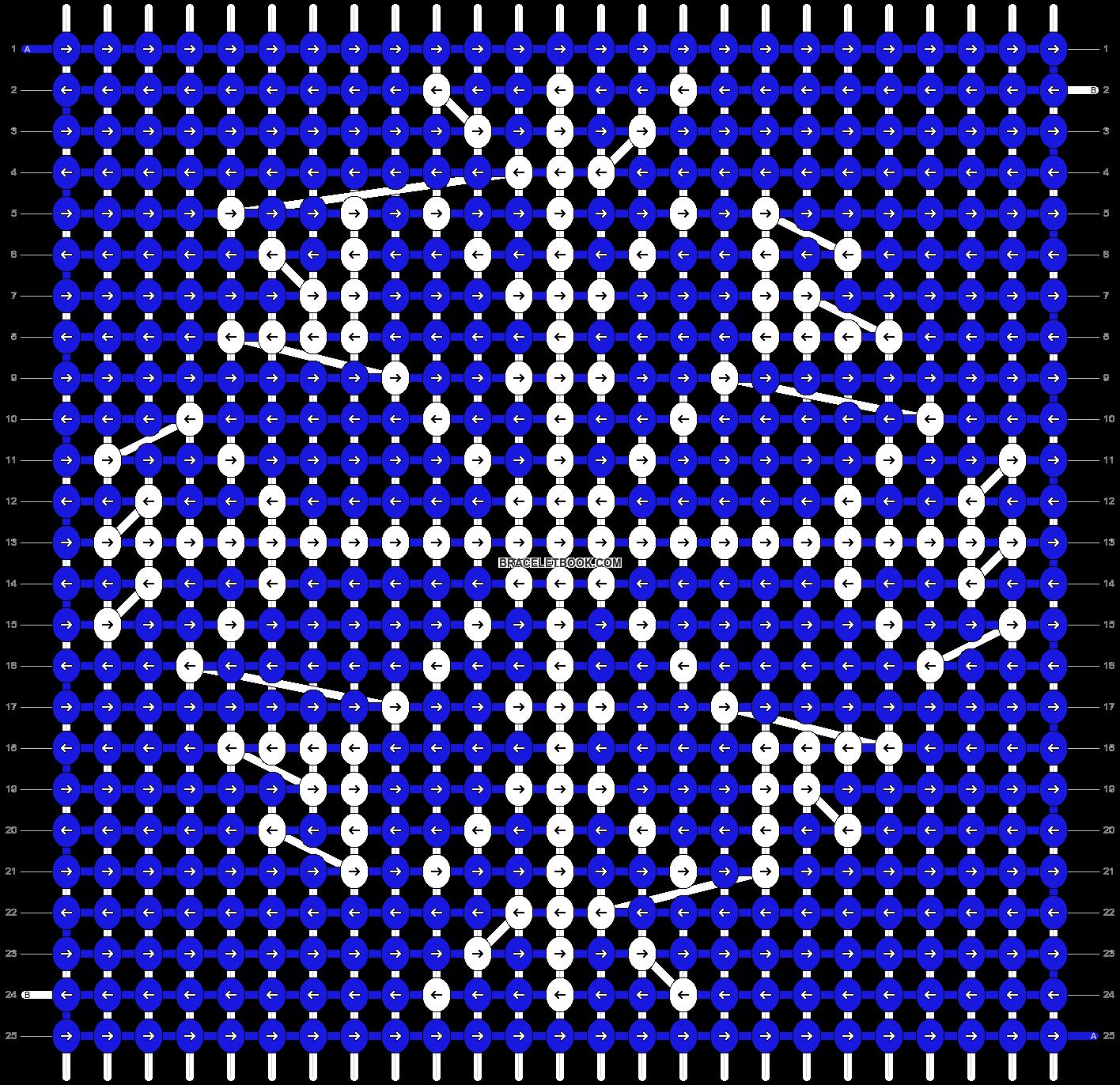 Alpha pattern #28429 pattern