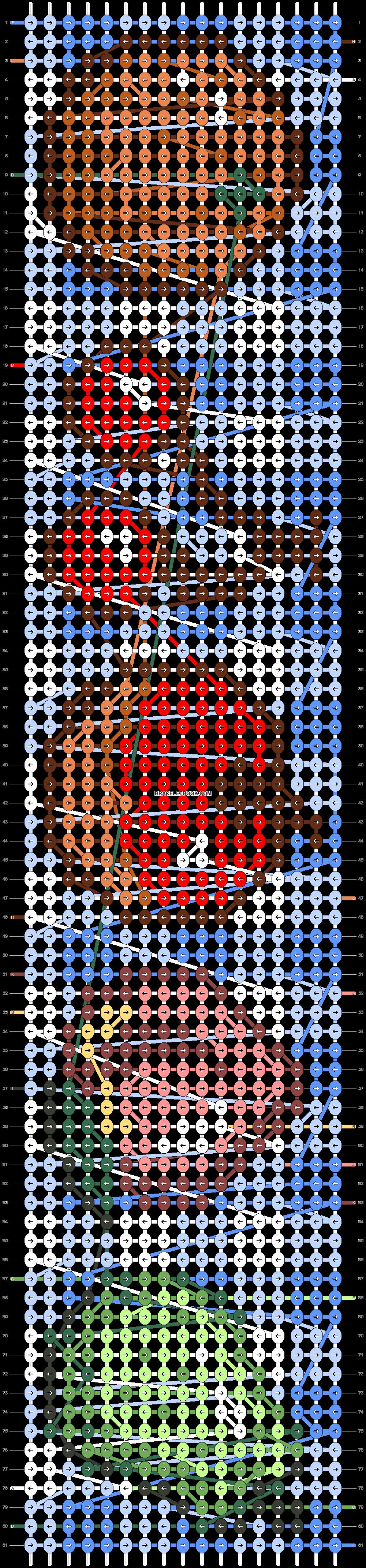 Alpha pattern #28434 pattern