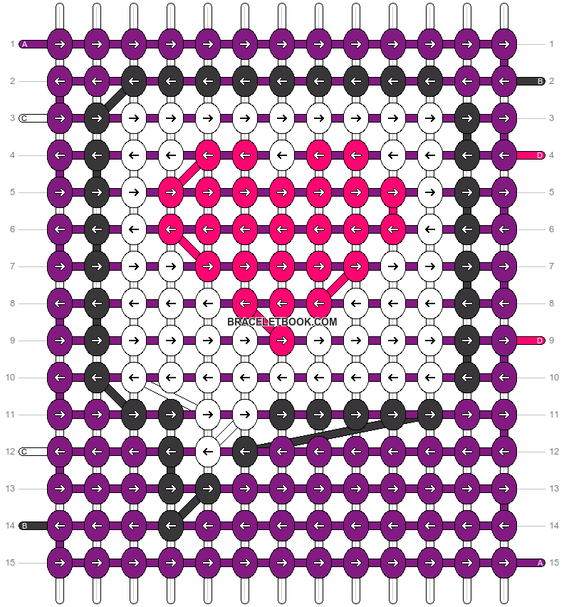 Alpha pattern #28444 pattern