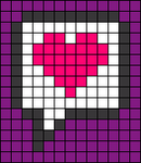 Alpha pattern #28444