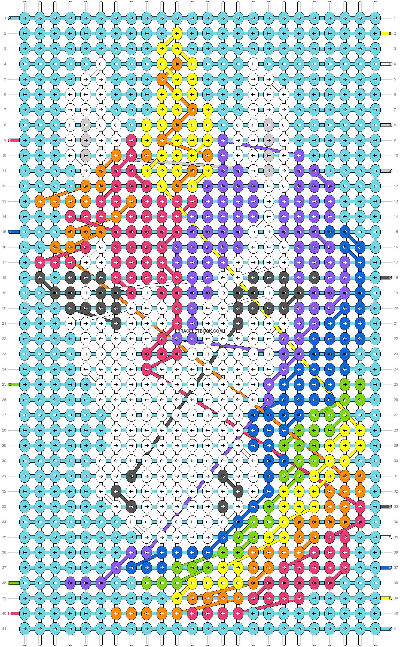 Alpha pattern #28445 pattern
