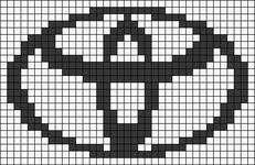 Alpha pattern #28473