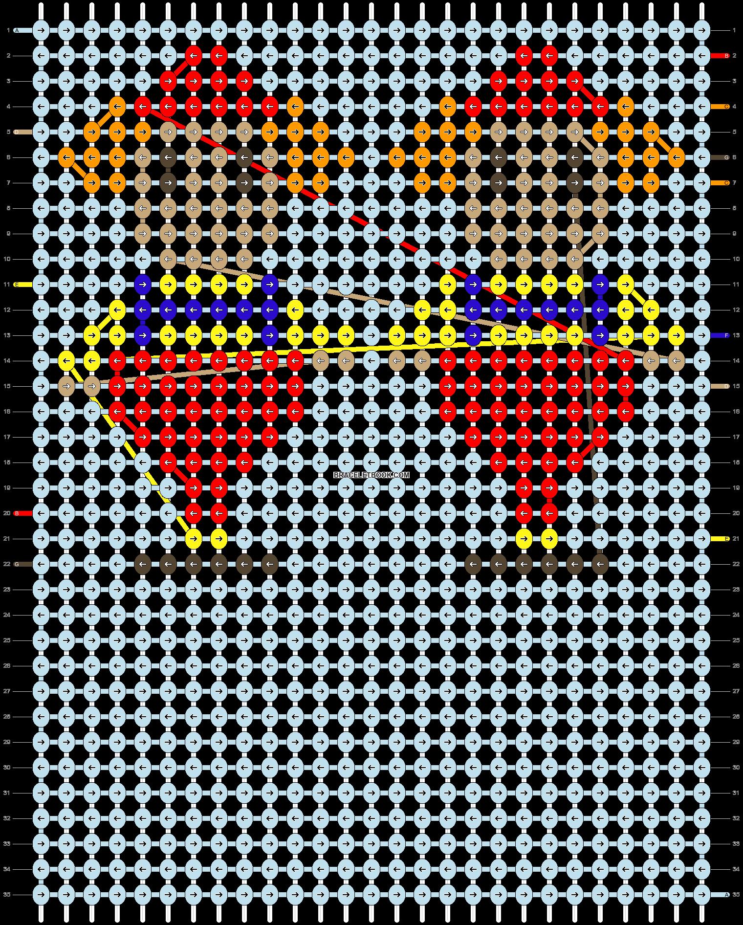Alpha pattern #28488 pattern