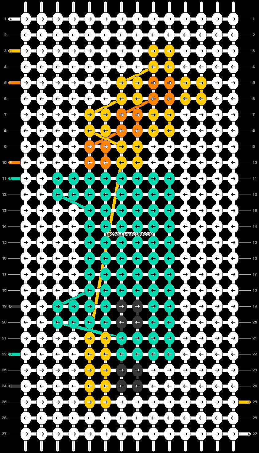 Alpha pattern #28524 pattern