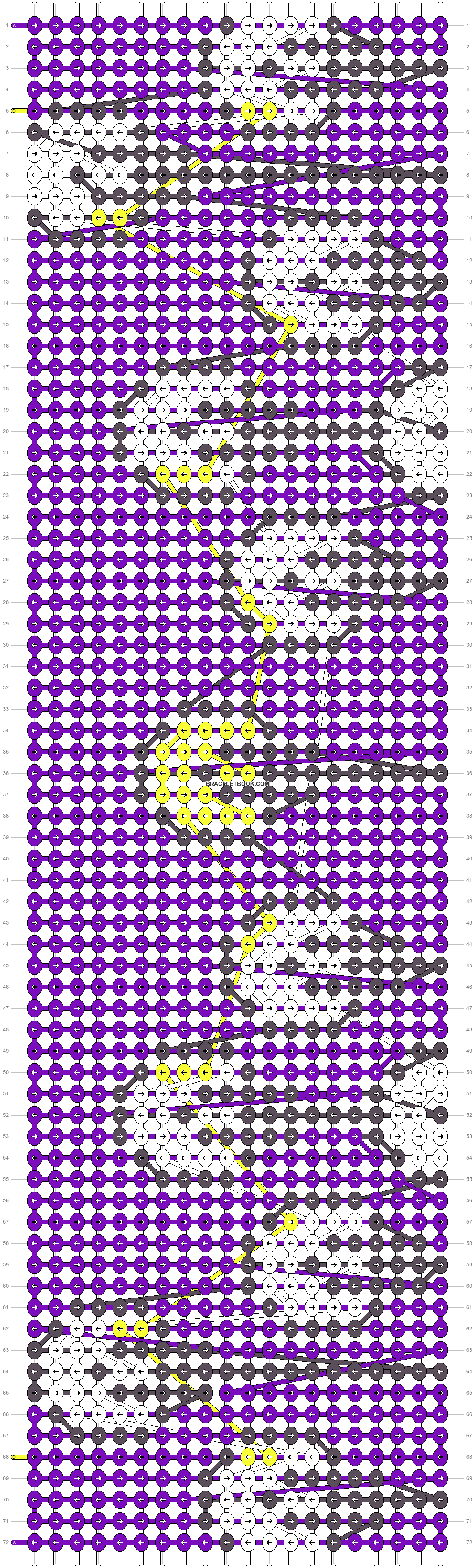 Alpha pattern #28530 pattern