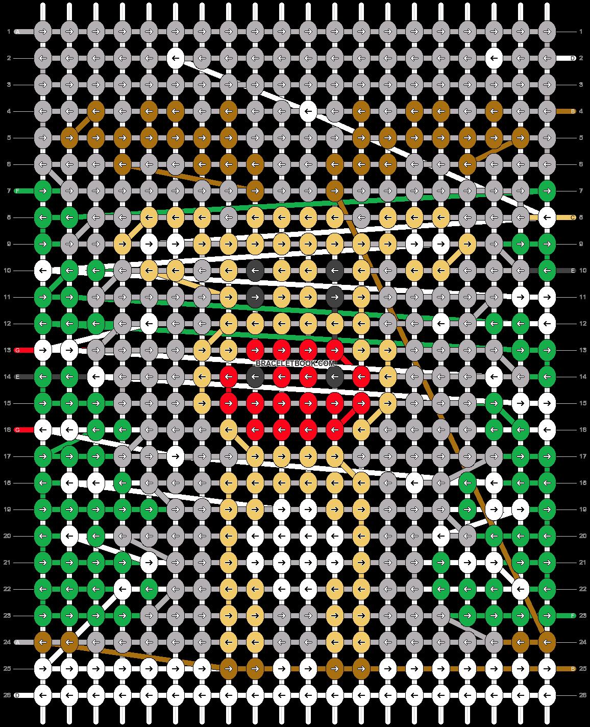 Alpha pattern #28535 pattern