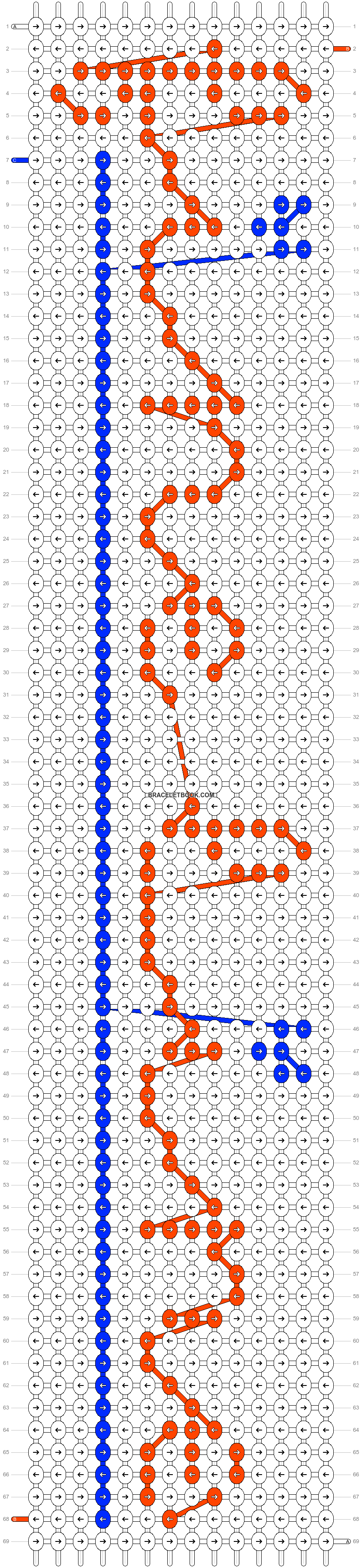 Alpha pattern #28564 pattern