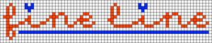Alpha pattern #28564