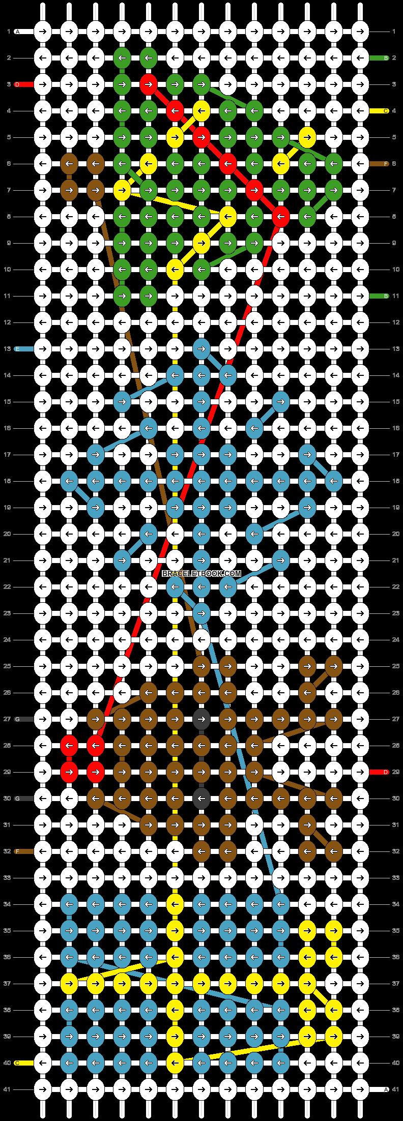 Alpha pattern #28577 pattern
