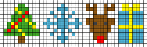 Alpha pattern #28577