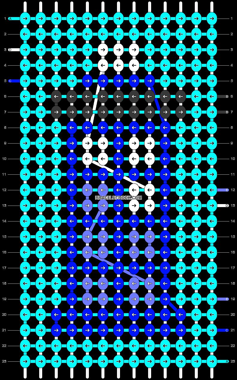Alpha pattern #28582 pattern