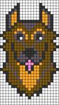 Alpha pattern #28606