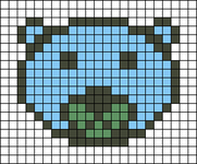 Alpha pattern #28610