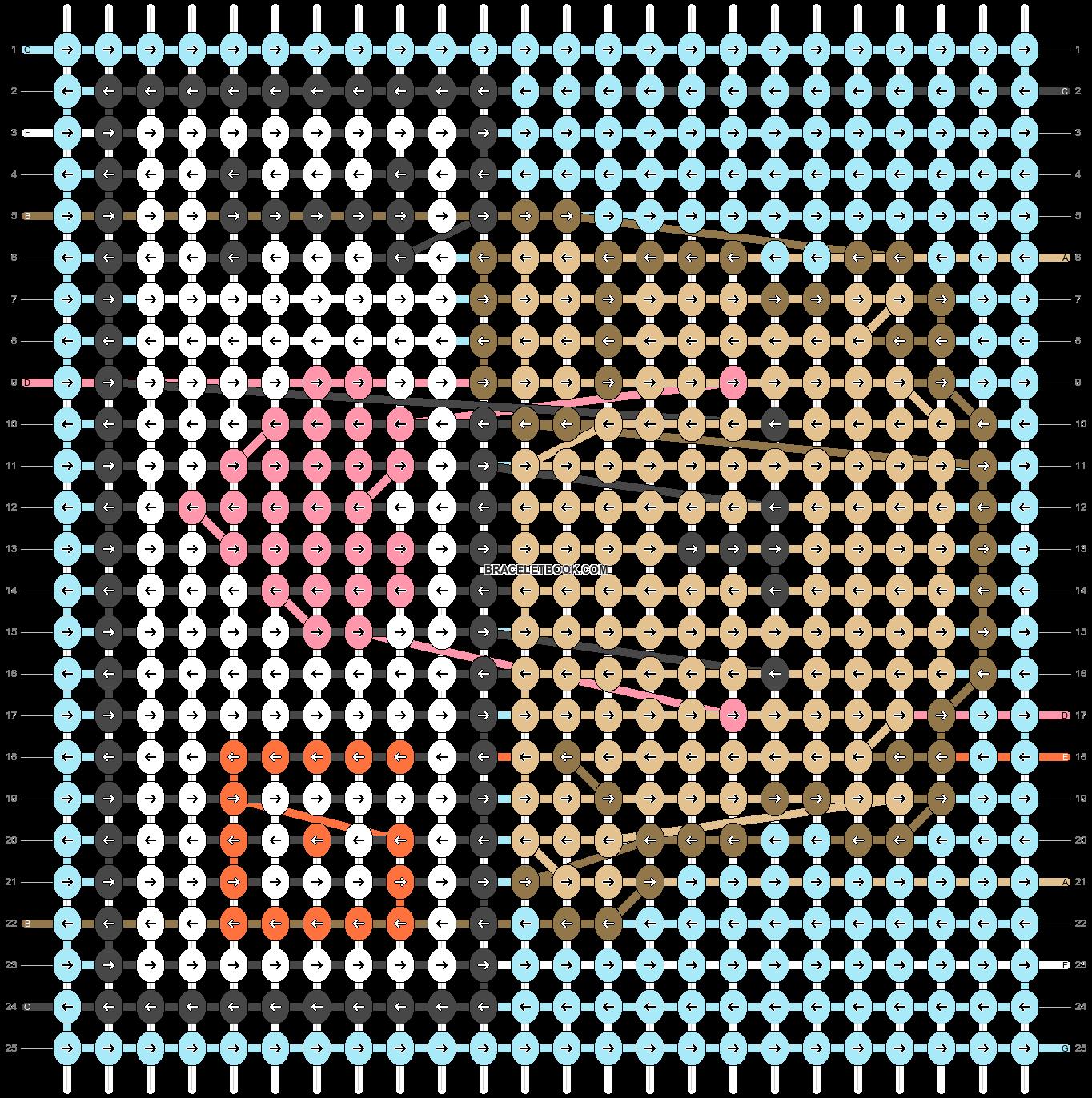 Alpha pattern #28618 pattern