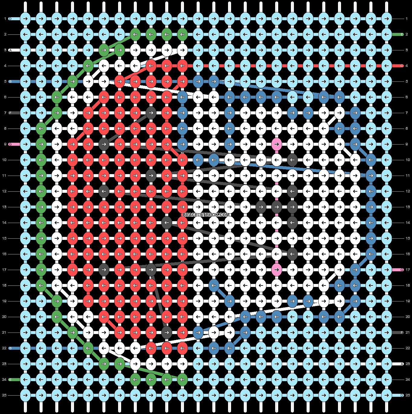 Alpha pattern #28620 pattern