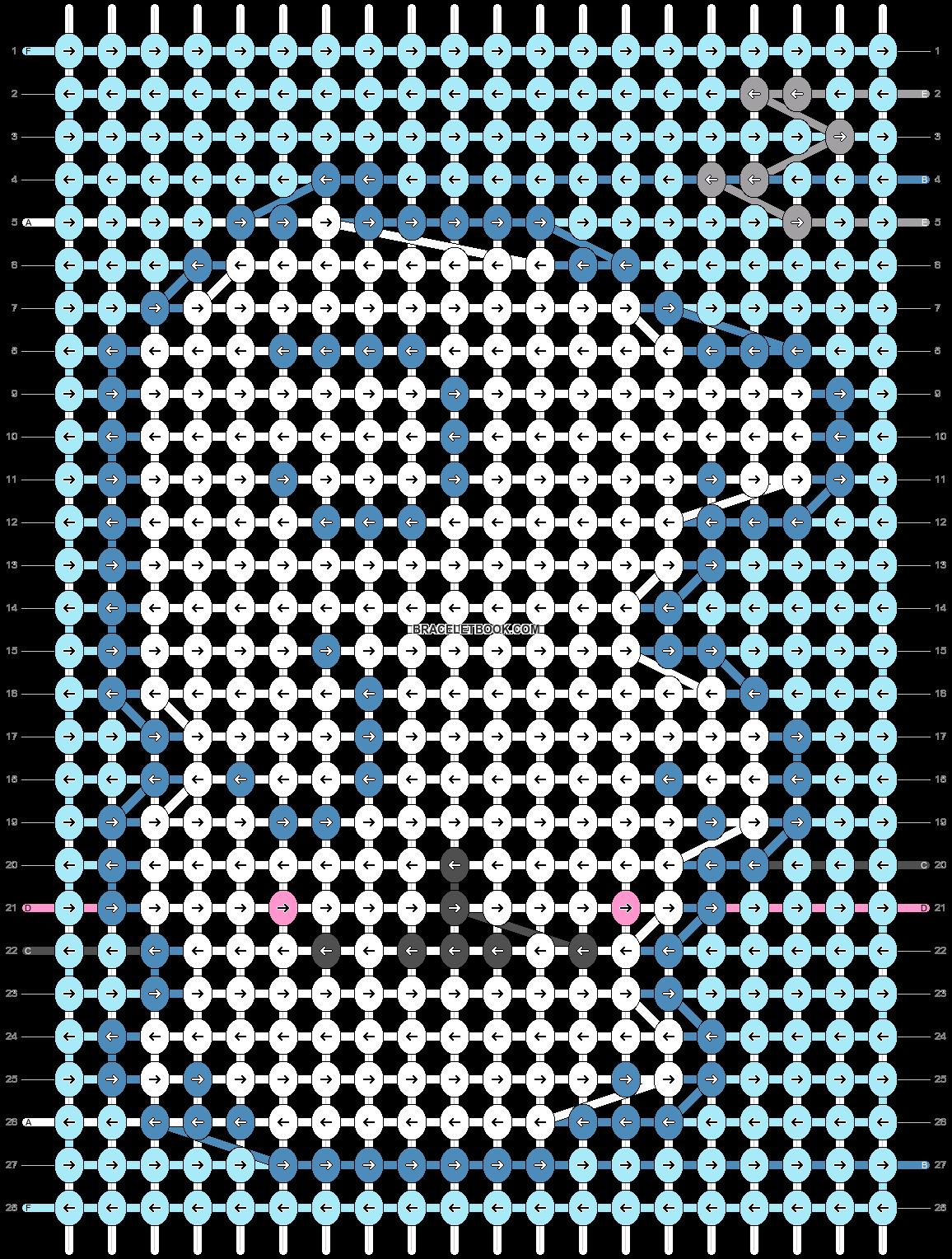 Alpha pattern #28621 pattern