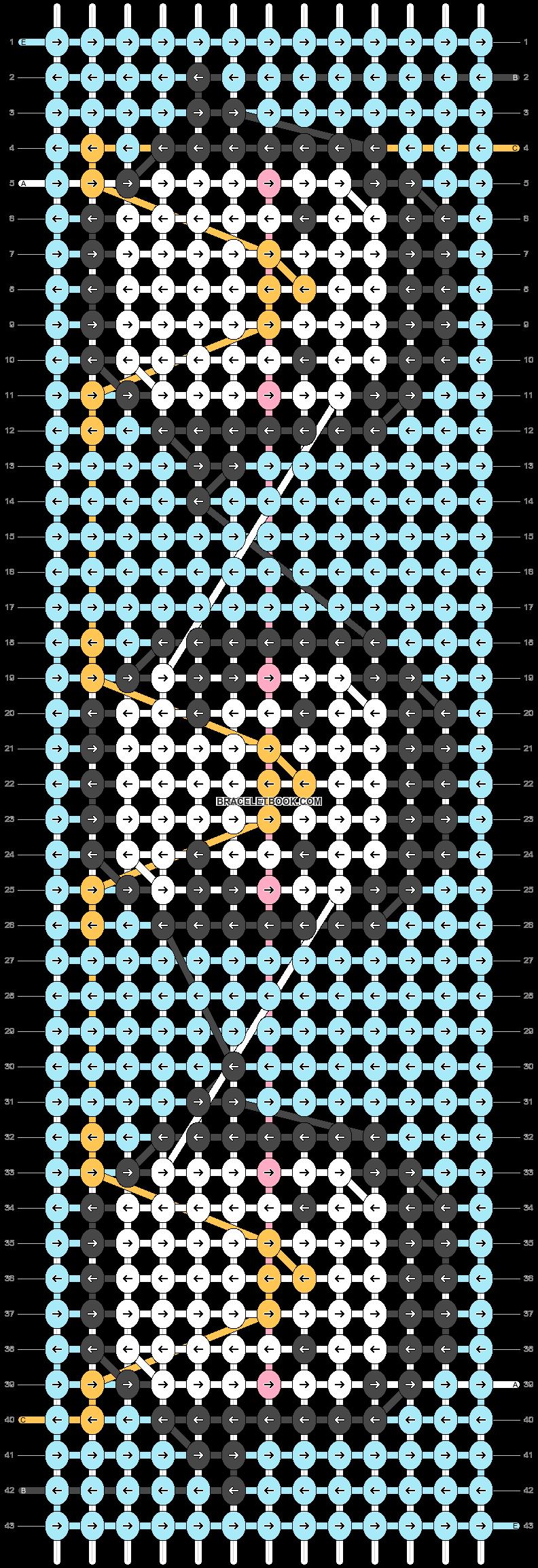 Alpha pattern #28623 pattern