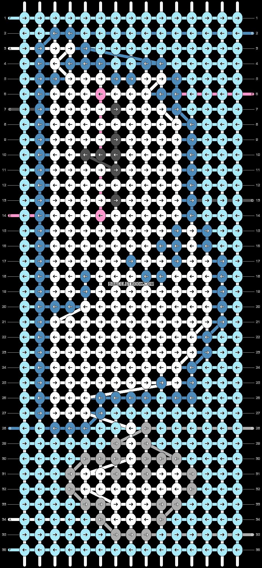 Alpha pattern #28624 pattern