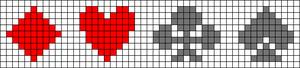Alpha pattern #28704