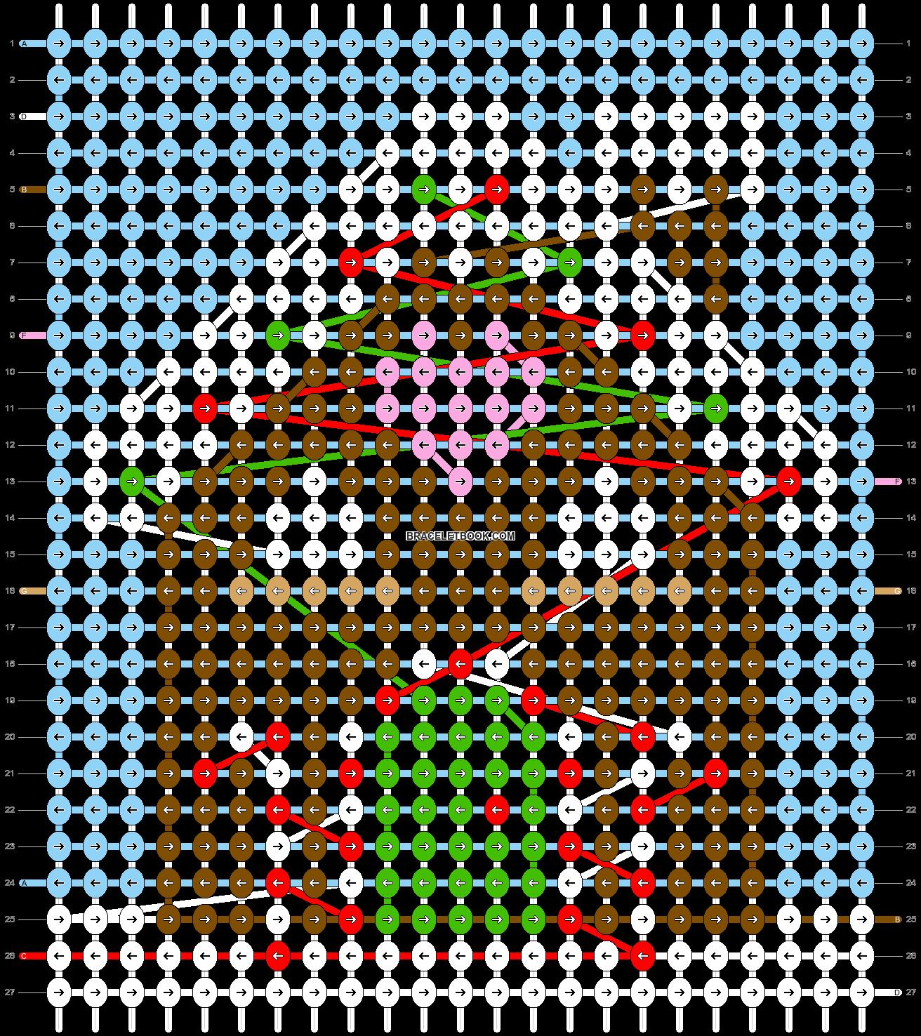 Alpha pattern #28716 pattern
