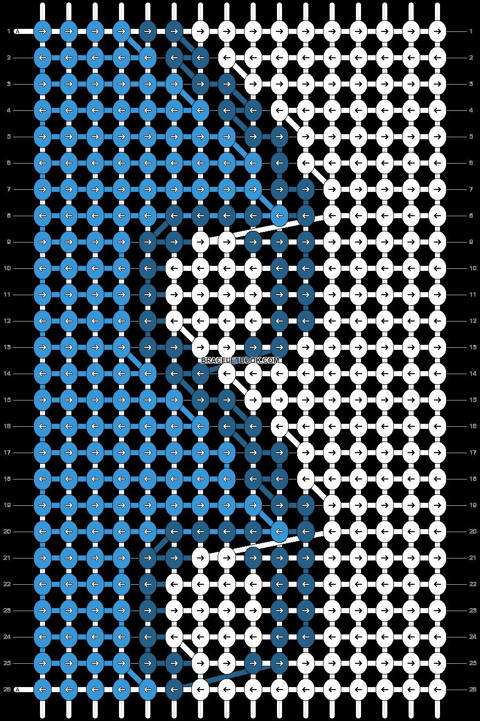 Alpha pattern #28734 pattern
