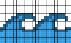Alpha pattern #28734