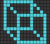 Alpha pattern #28738
