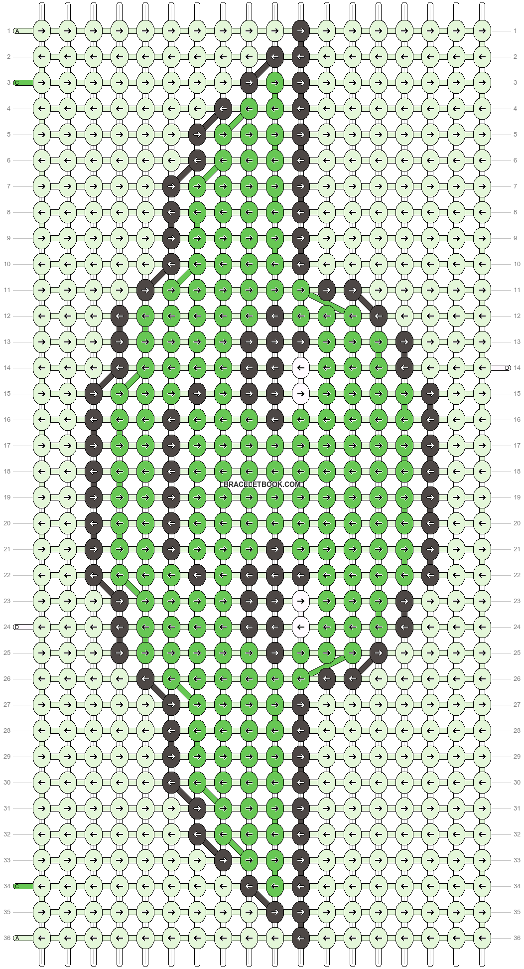 Alpha pattern #28775 pattern