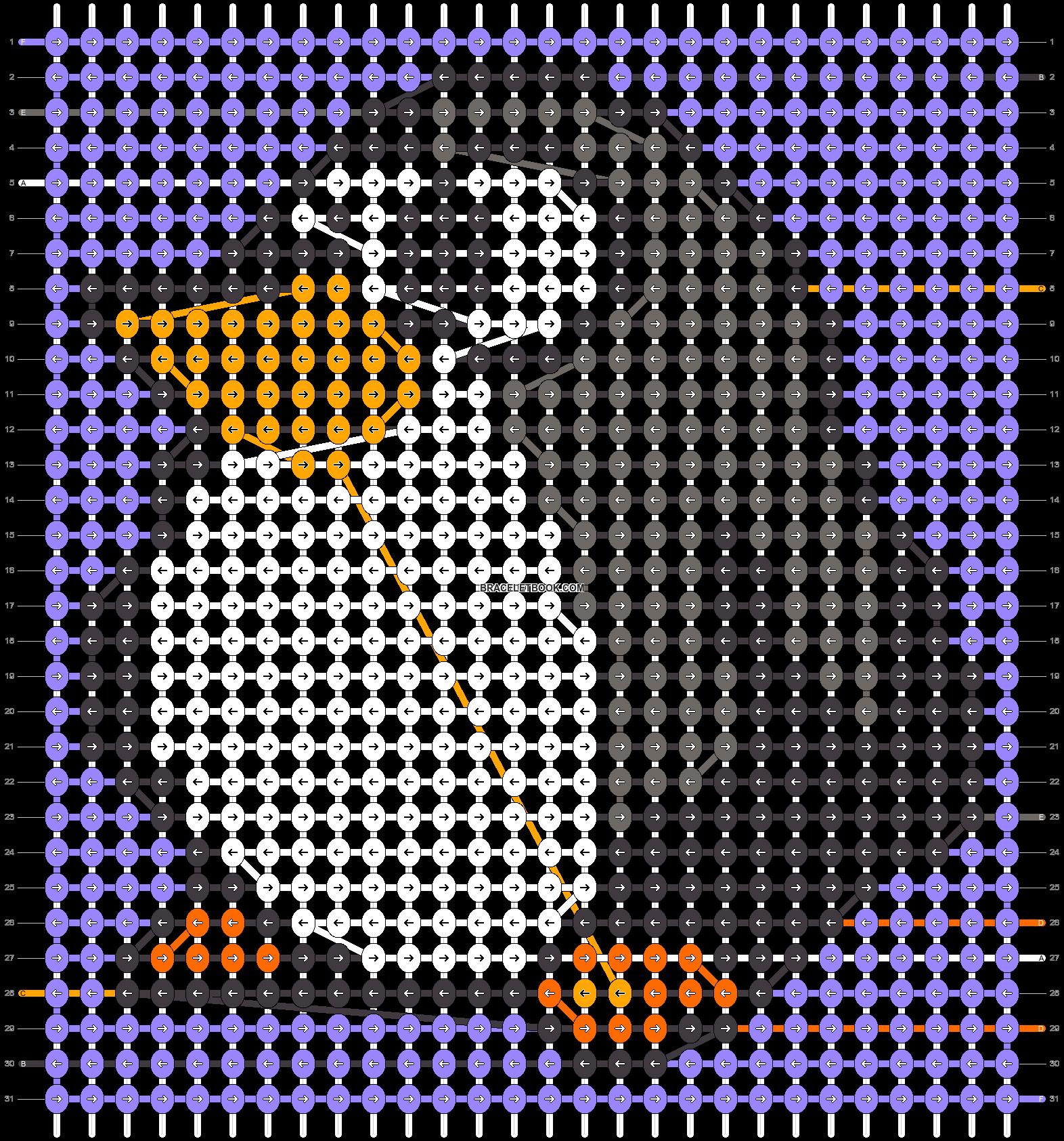 Alpha pattern #28789 pattern