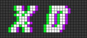 Alpha pattern #28791