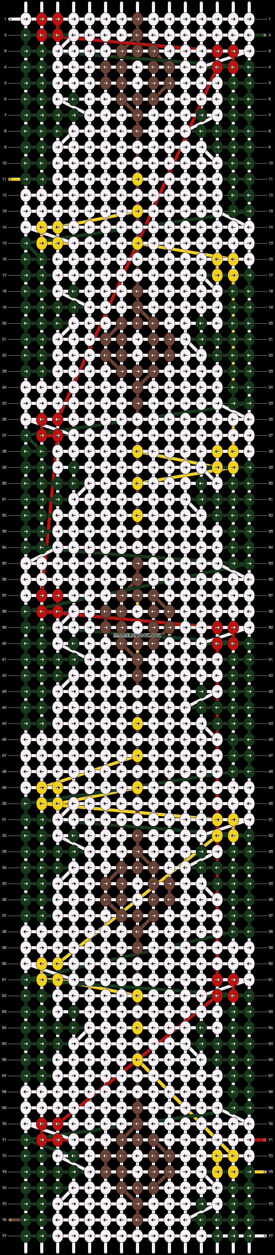 Alpha pattern #28802 pattern