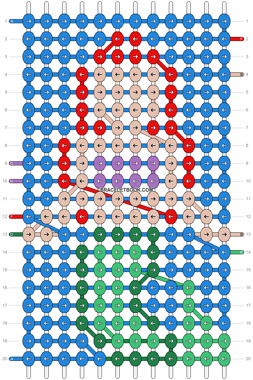 Alpha pattern #28815 pattern