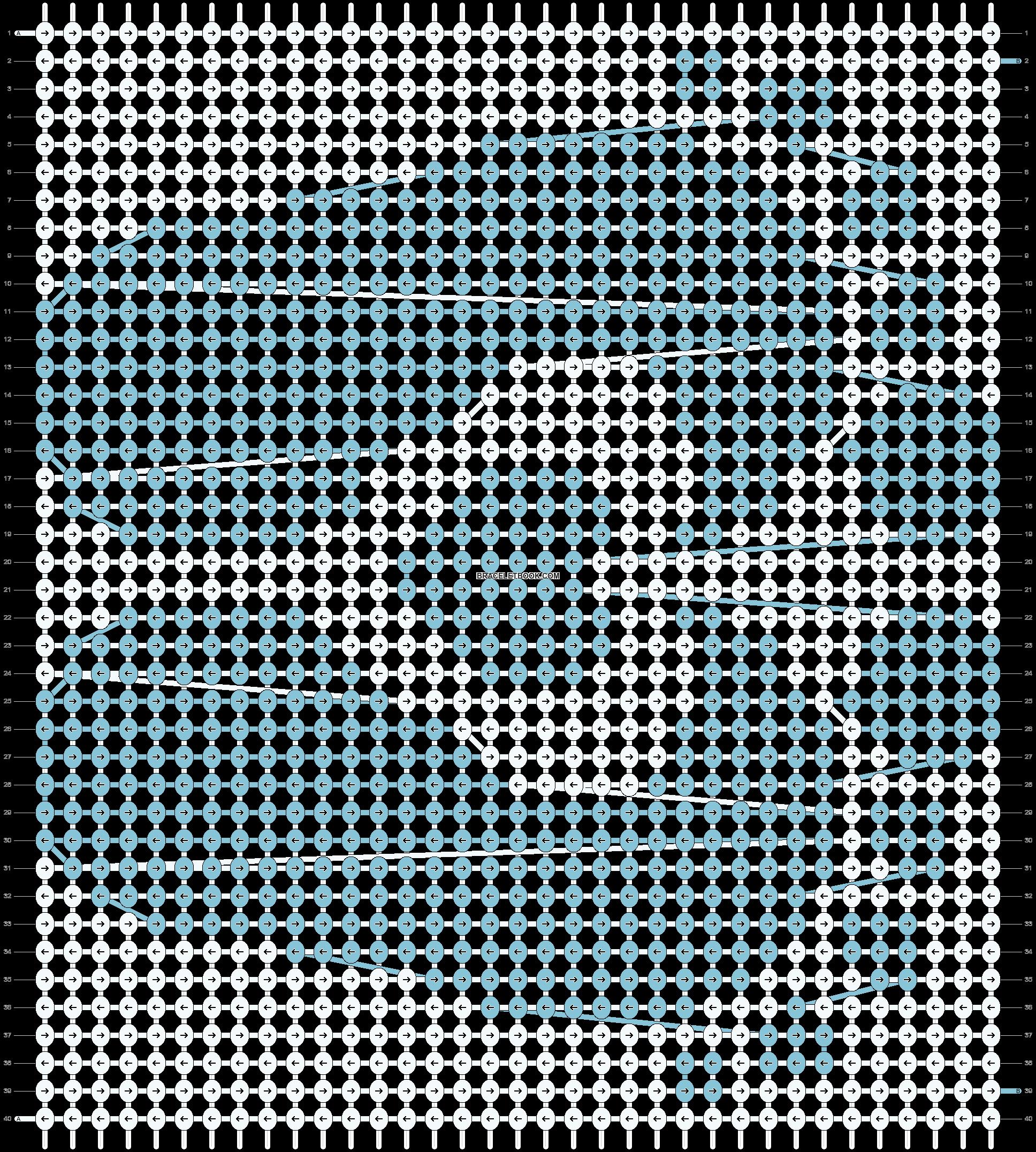 Alpha pattern #28847 pattern