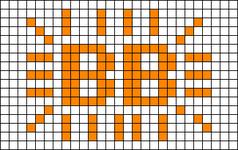 Alpha pattern #28921