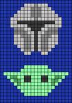 Alpha pattern #28959