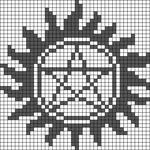 Alpha pattern #29006