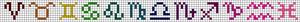 Alpha pattern #29014
