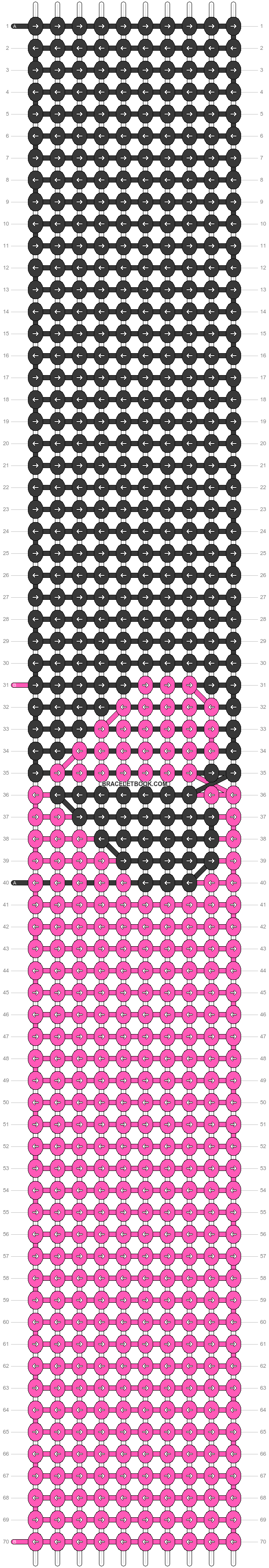 Alpha pattern #29052 pattern