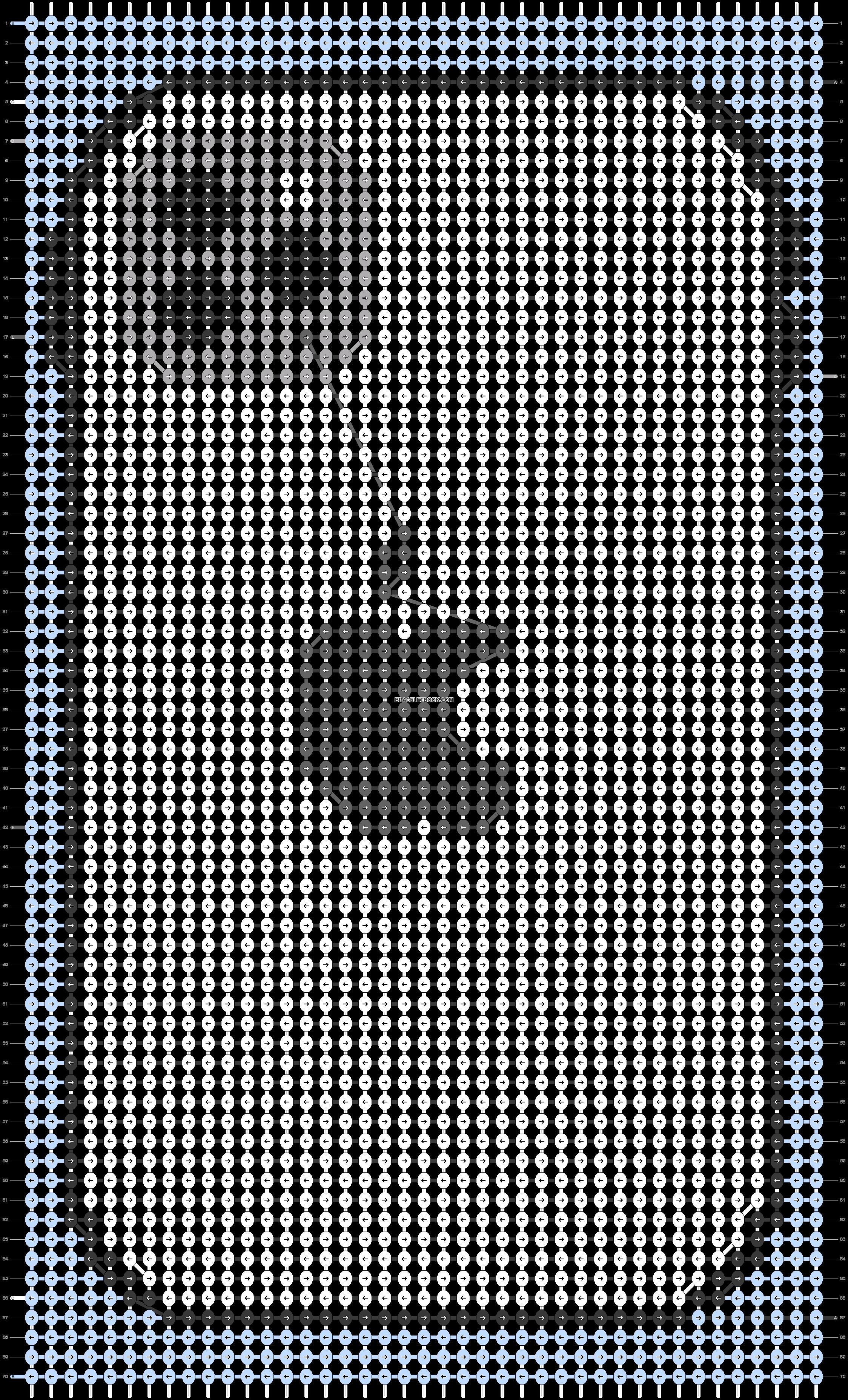 Alpha pattern #29094 pattern