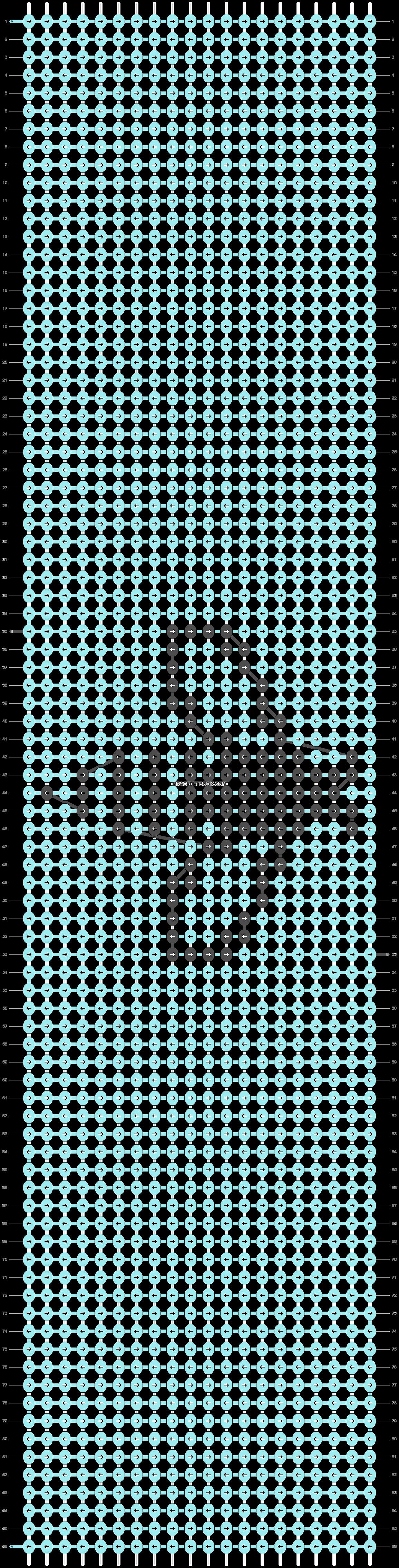 Alpha pattern #29126 pattern