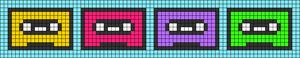 Alpha pattern #29158
