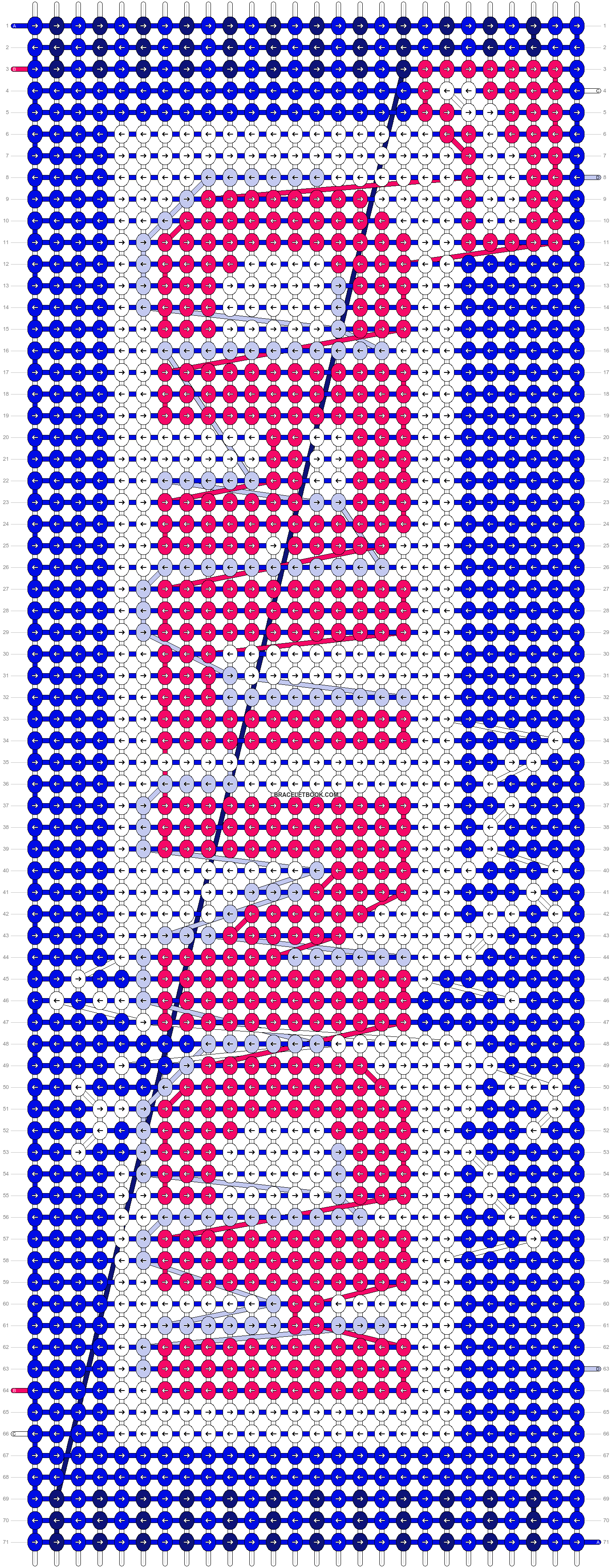 Alpha pattern #29160 pattern