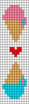 Alpha pattern #29171