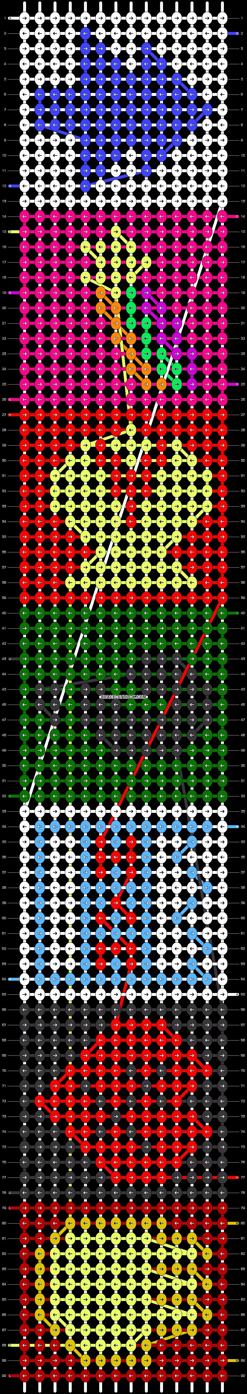 Alpha pattern #29172 pattern