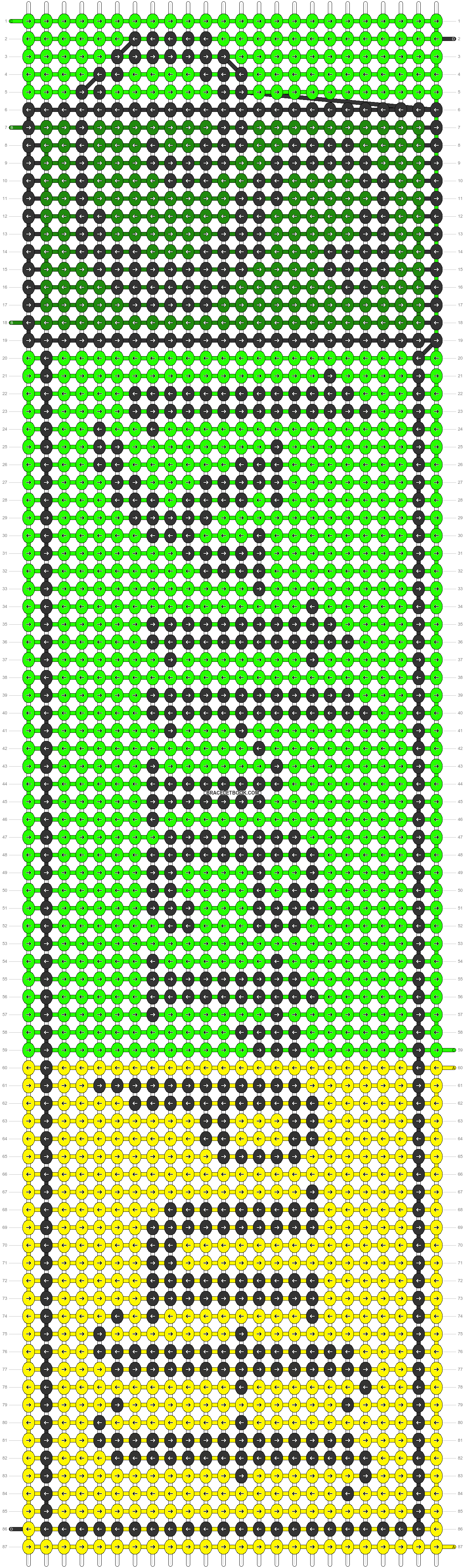 Alpha pattern #29209 pattern