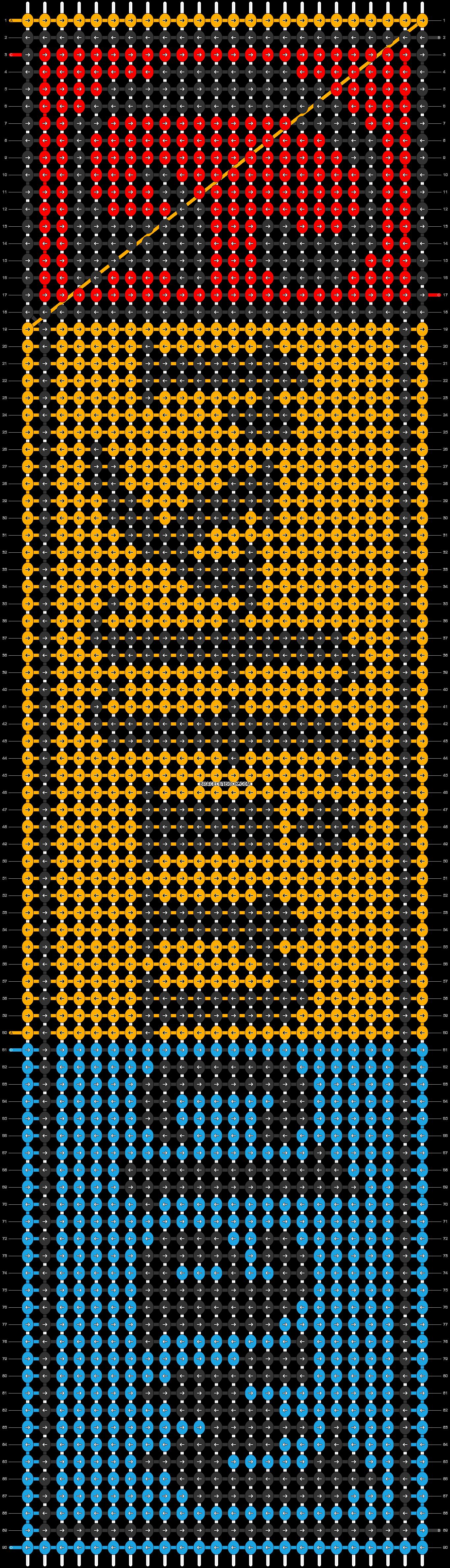 Alpha pattern #29210 pattern