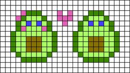Alpha pattern #29213