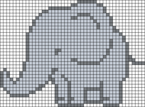 Alpha pattern #29216