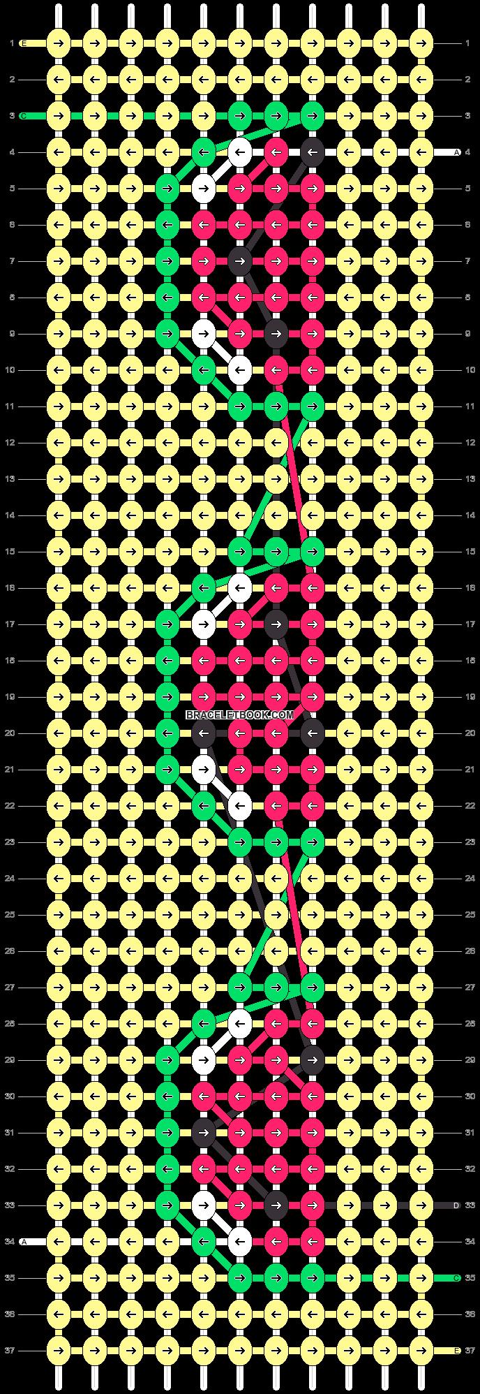 Alpha pattern #29235 pattern