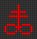 Alpha pattern #29256